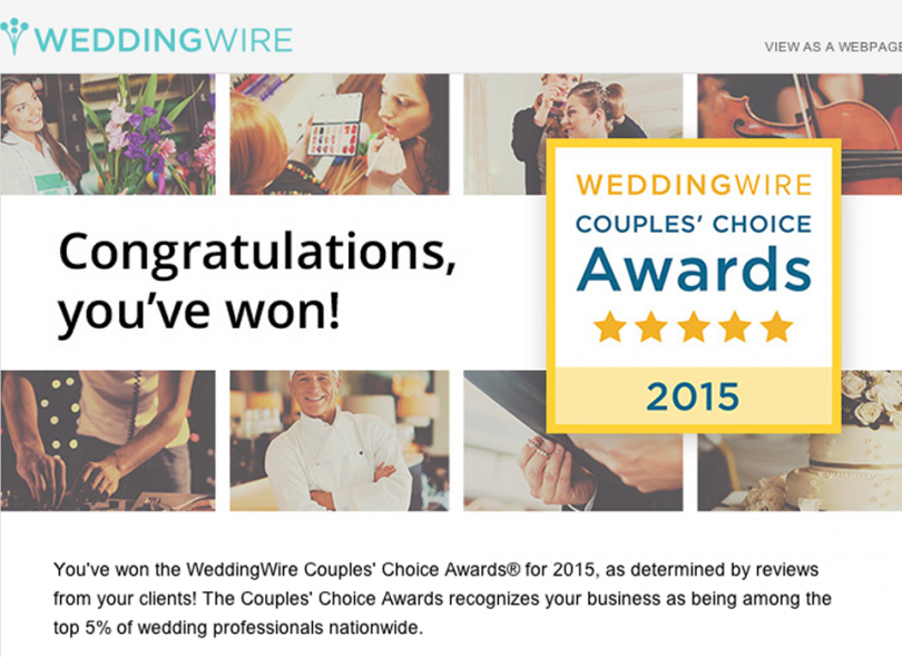 CMP- 2015 Couples Choice Award